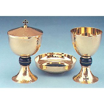 Chalice,Ciborium, and Bowl Paten