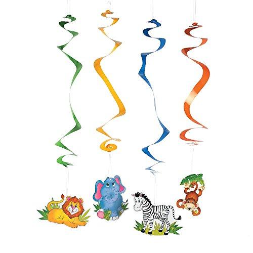 Fun Express Animal Dangling Swirls