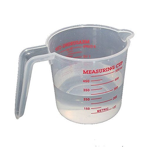 """500ML Clear Plastic Measuring Cup"" shopping"
