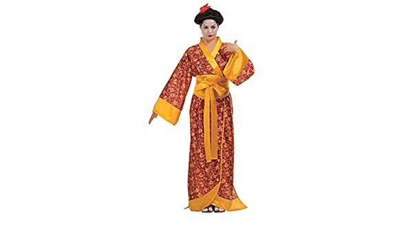 Horror-Shop Traje De Geisha Kimono M: Amazon.es: Juguetes y ...