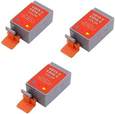BCI-16C/_3PK SuppliesMAX Compatible Replacement for Canon PIXMA IP-90//90V Color Inkjet 3//PK-75 Page Yield