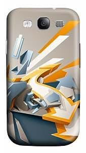 Samsung Galaxy S3 Case Cover - Arrows 3D PC Hard Back Cover for Samsung Galaxy S III / Samsung S3/ Samsung i9300