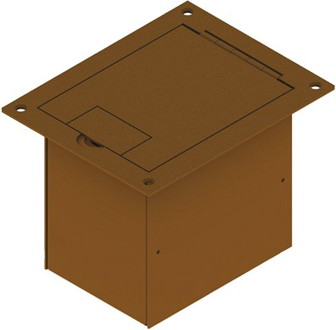 FSR FL-1200-OAK Floor Box