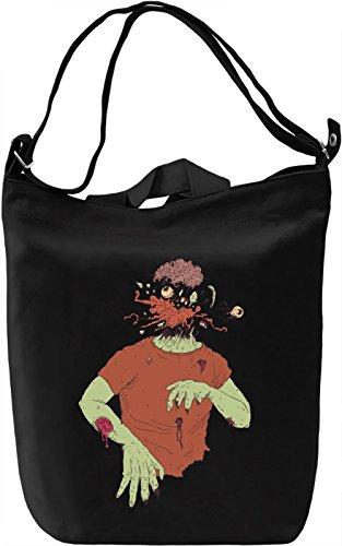 Explosion zombie head Borsa Giornaliera Canvas Canvas Day Bag| 100% Premium Cotton Canvas| DTG Printing|
