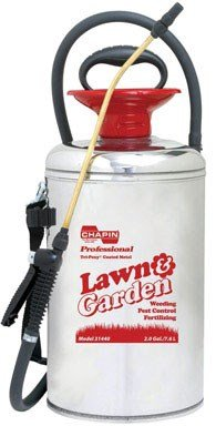 - Chapin 31440 2-Gallon Lawn & Garden Series Stainless Steel Sprayer For Fertilizer, Herbicides and Pesticides, 2-Gallon (1 Sprayer/Package)