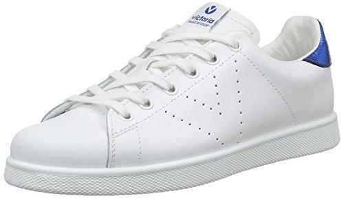 Mixte Blanc Basket Adulte Victoria capri Sneakers Basses Piel Deportivo 4axAFqw1X