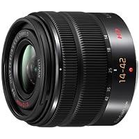 Panasonic H-FS1442AE-K AF-Motor Lens F5.6 ASPH OIS (14 - 42 mm Image Stabiliser) for G-Series Camera Black (International Model)