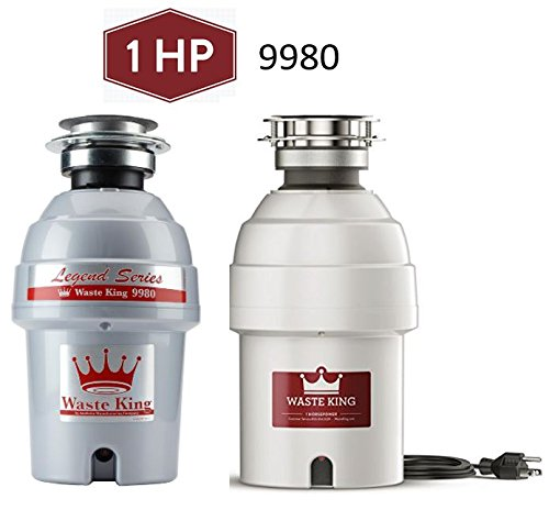 Buy waste king 1 hp continuous feed garbage disposal
