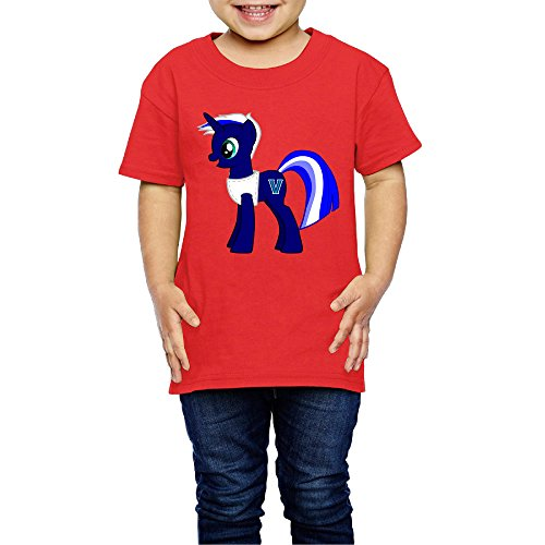Price comparison product image Kids Boy's & Girl's MY LITTLE PONY Awesome T Shirts 2 Toddler Red