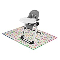 Peg Perego - Siesta High Chair Ice with Splat Mat