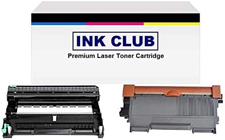Replacement for Brother DR-630 InkClub 1 DR630 TN-660 1 TN660 New Compatible Black High Yield Toner /& Drum Cartridge Combo Set
