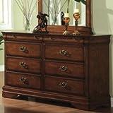 Dresser in Dark Oak Finish by Furniture of America