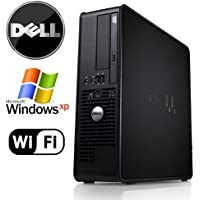 Dell Optiplex SFF Desktop - Intel Pentium Dual Core 3.0GHz -NEW 4GB RAM - 80GB HDD - Microsoft Windows XP Pro -New WiFi - DVD/CD-RW-New Keyboard and Mouse-(Certified Reconditioned).