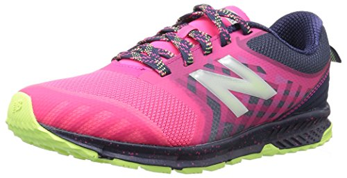 New Balance nữ bán chạy tại Mỹ/ Nữ new balance kids' nitrel v3 trail-runners,pink/grey,4 medium us little kid