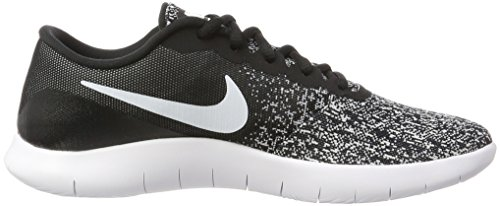 black 001 Flex Uomo Running White Nero Da Nike Trail Contact Scarpe vw88a