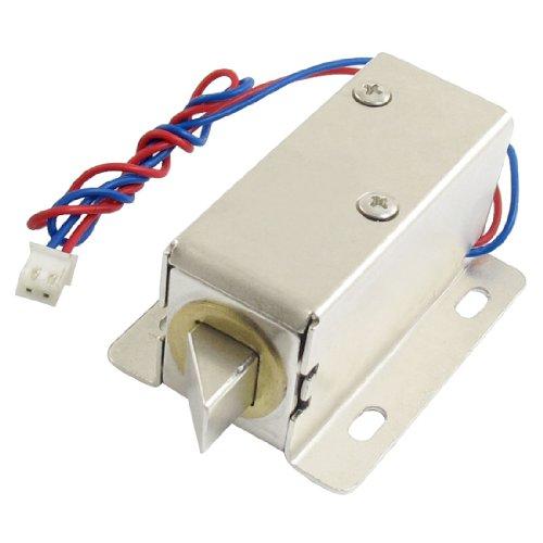 uxcell 0837L DC 12V 8W Open Frame Type Solenoid for Electric Door - Lock Door Solenoid