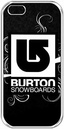 Charming Black Design Burton Logo Téléphone Shell For Coque Iphone ...