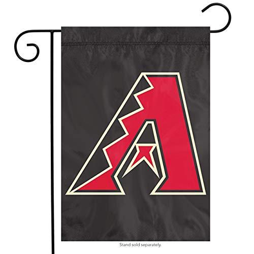 """The Party Animal MLB Arizona Diamondbacks MLB Garden Flag, Black, 18"""" x 12.5"""""""