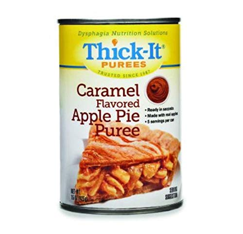 Thick-it Puree Caramel Flavored Apple Pie, 15-Ounce Packages