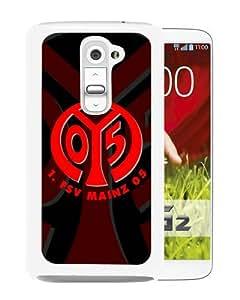 Personalized LG G2 With FSV Mainz 05 Logo 1 White Customized Photo Design LG G2 Phone Case