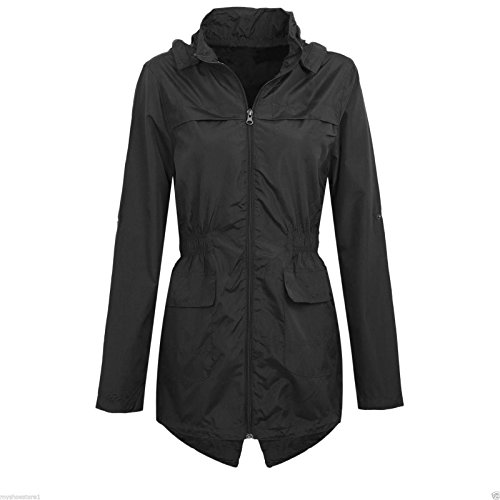 Hooded Showerproof Rain Jacket