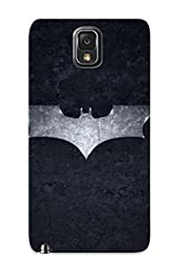 New Snap-on Gritcyrcrd Skin Case Cover Compatible With Galaxy Note 3- Batman Logo