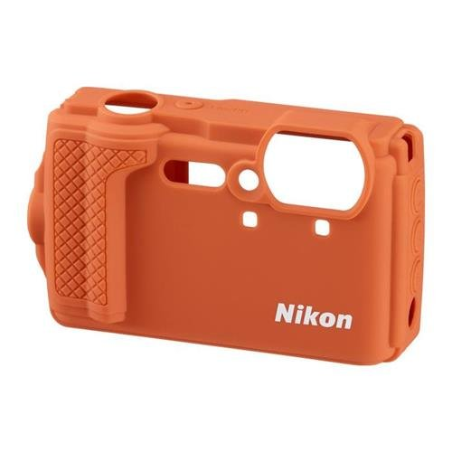 (Nikon CF-CP3 Silicone Jacket (Orange) for Coolpix W300)