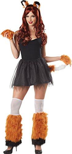 [UHC Women's Kits Fox Beast Monster Theme Party Adult Halloween Costume, OS] (Mens Beast Halloween Costume)