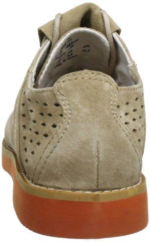 Site Pointer Tibbals Cordones beige De Para stone Cuero Mujer Zapatos I014734 Beige Pq64RrwP