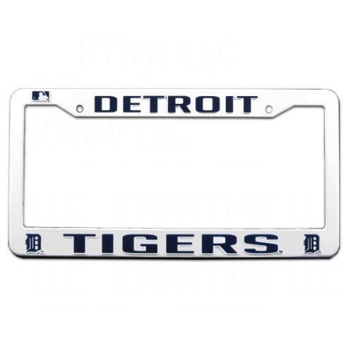 Rico MLB Tigers Plastic Frame, 15 x 8, Logo Color Black Detroit Tigers Frame