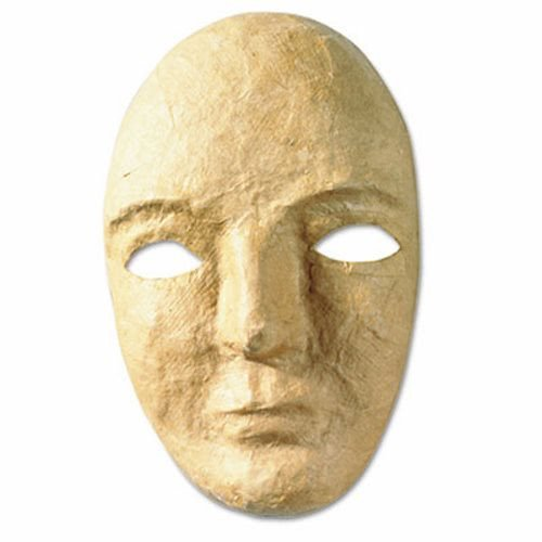 The Chenille Kraft Company Paper Mache Mask Kit, 8 x 5 1/2'' (14 Units)