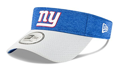 New Era New York Giants NFL 2018 Official Sideline Performance Visor by New Era