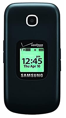 Samsung Gusto 3 Verizon Wireless Flip Phone w/ 1.3MP Camera & Long-Lasting Battery, Dark Blue (Certified Refurbished)