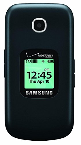 Samsung Gusto 3 Verizon Wireless Flip Phone w/1.3MP Camera & Long-Lasting Battery, Dark Blue (Certified Refurbished) by