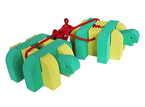 Outdoor Sports Toys Harden EVA Cartoon Tortoise Stilts 1 Pair by Panda Superstore