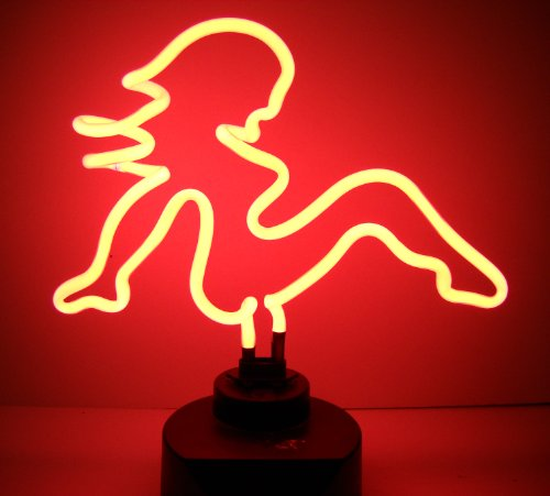Neonetics Mud Flap Girl Neon Sign Sculpture