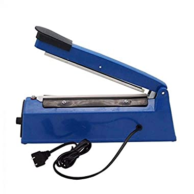 OSFT 8 inch Package Sealing Machine Plastic Vacuum Tool Heat Hand Sealer (8 Inch, Blue) 13