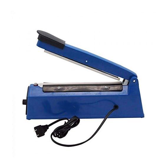 OSFT 8 inch Package Sealing Machine Plastic Vacuum Tool Heat Hand Sealer (8 Inch, Blue) 6