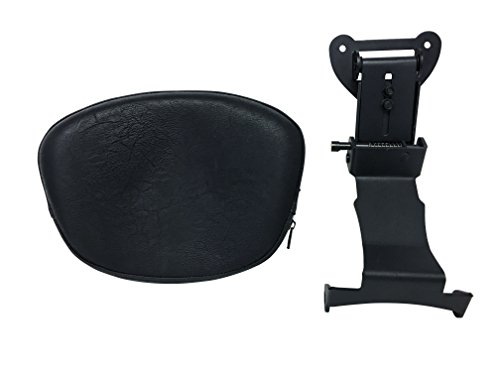 Fully Adjustable Driver's Backrest for 00+ Yamaha Road Star XV1600/1700 - ()