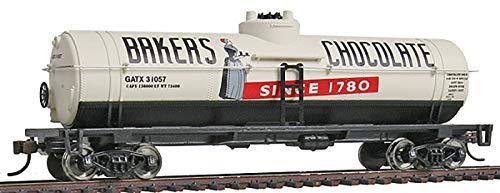 0' Tank Car - Ready to Run Baker's Chocolate GATX 31057 ()