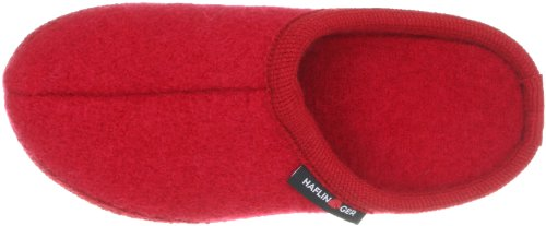 Alaska Por Para Rojo ziegelrot Casa De Mujer rot Walktoffel Haflinger Zapatillas 85 Estar w5TXHq0