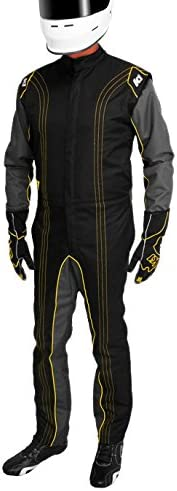 K1 Race Gear CIK//FIA Level 2 Approved Kart Racing Suit Green, Small