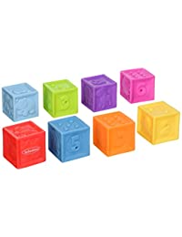 Infantino Squeeze and Stack Block Set BOBEBE Online Baby Store From New York to Miami and Los Angeles