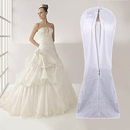 Extra Large Garment Cover Wedding Bridal Dress Gown Storage ...