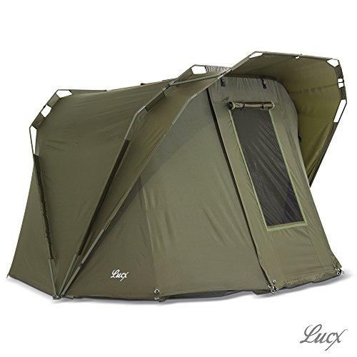 🥇 Lucx® Coon Carp Dome – Tienda de campaña para 2 personas