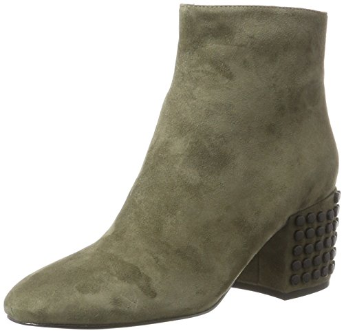 Kendall and Kylie Women's Kkblythe Boots, Black Green (Olive17 Fh Kid Suede 000)