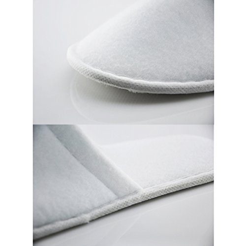 Toe White 6pairs Slippers Disposable Raylans Cotton Closed Unisex Home Travel Spa tZwwARq