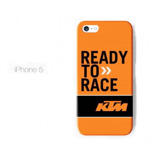 iphone 5 hard case custom ktm racing ready to race amazon co uk