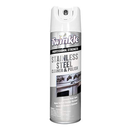Twinkle TI-525417 Stainless Steel Cleaner, 17 Ounce