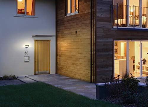 Osram LED Endura Style Lantern Solar Gartenpylone Leuchte, für Außenanwendungen, intergrierter Bewegungssensor, Tag-Nacht-Sensor, Warmweiß, 213, 0 mm x 896, 0 mm